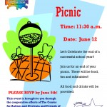 CAD End of Year Picnic
