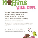 Muffins with Mom BVS school event
