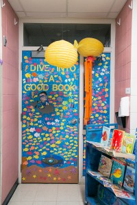 """Under the Sea"" door decorating contest"