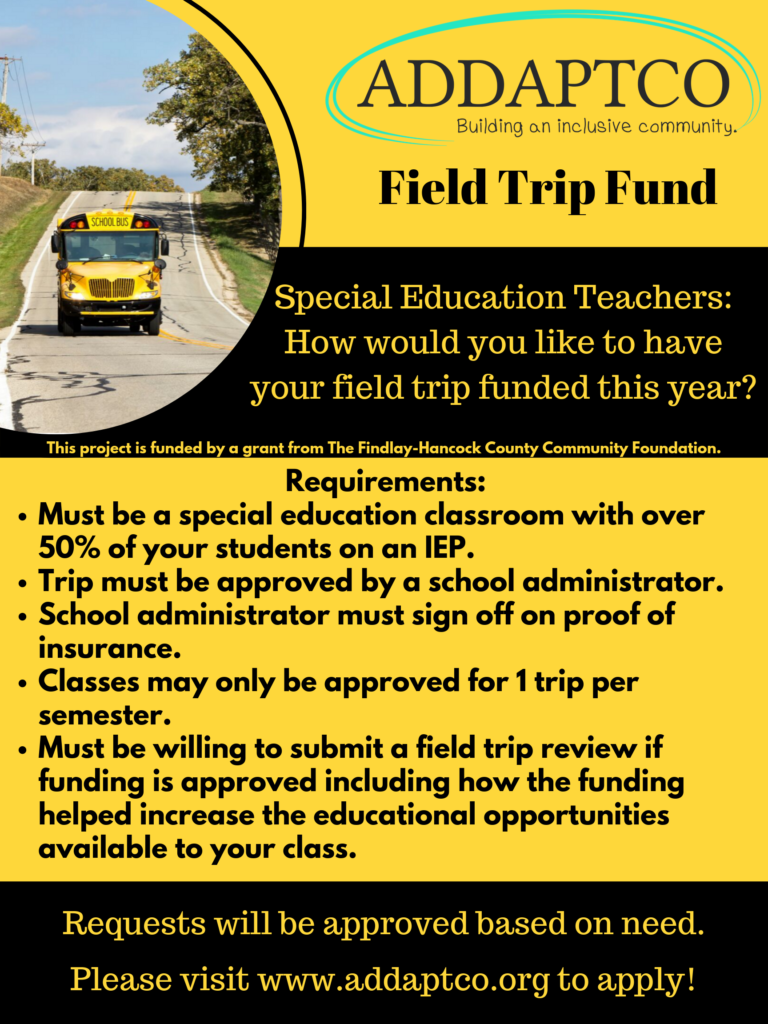 ADDAPTCO Field Trip Fund